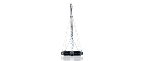 FLYINTOWER 13-2.000 - Vertical PA Tower (h13m, SWL2.000kg)