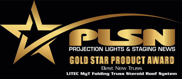 LITEC's MyT Folding Steroid Roof System receives gold award
