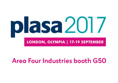 Come to see us at PLASA