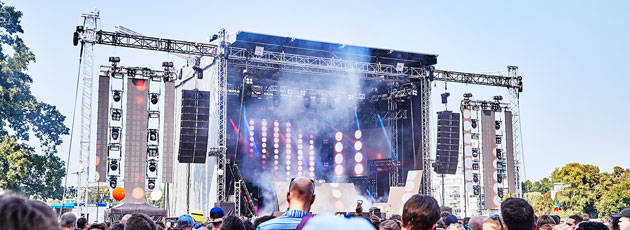 Area Four Industries brings Colour & Sound to Lollapalooza